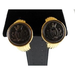 Fendi Earrings Gold (SKU 000242-19)